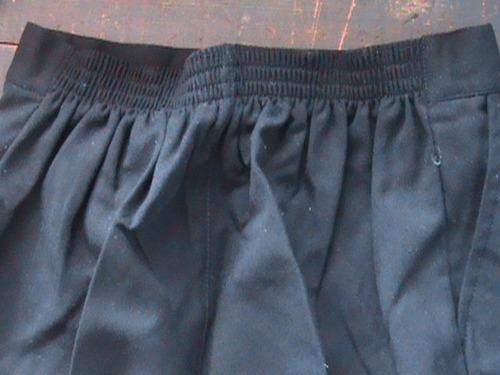bermudas y falda short infantil para uniformes