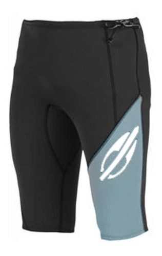 bermuda/shorts neoprene mormaii neo x-4 plus grafite preto