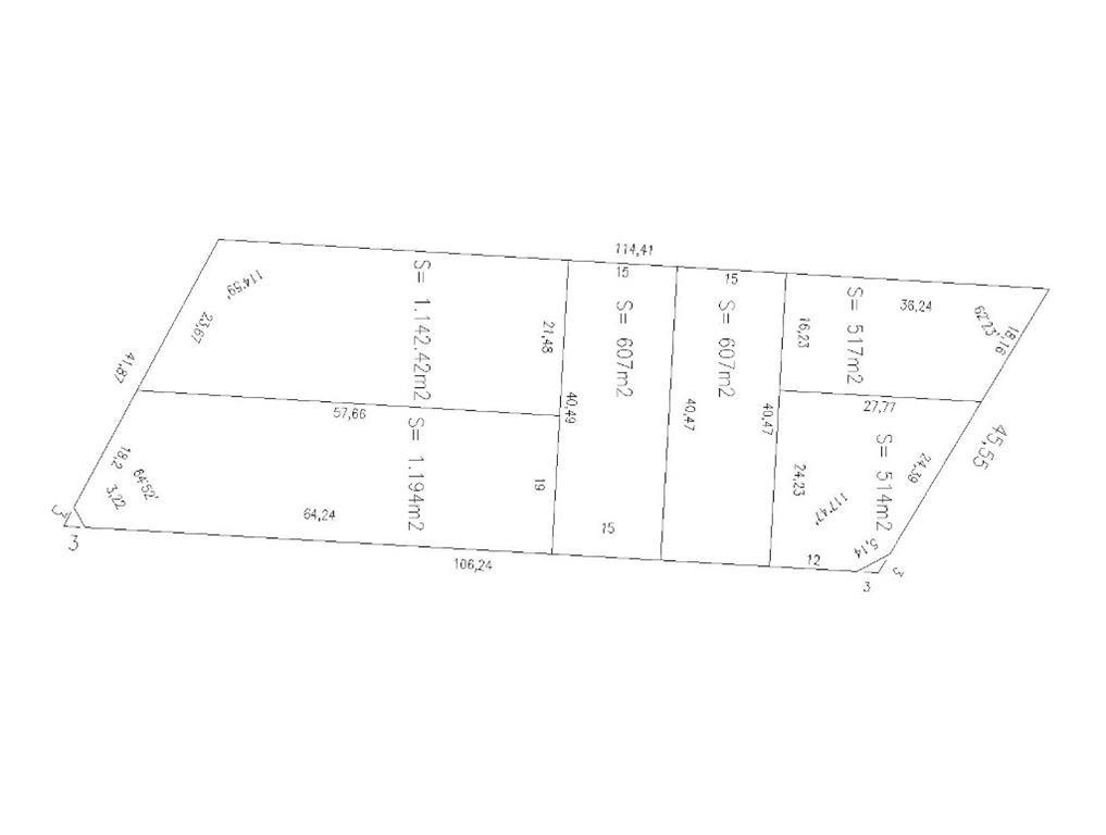 bermudez, cap. 200 - la lucila - bajo - terrenos/fracciones/loteos loteos - venta