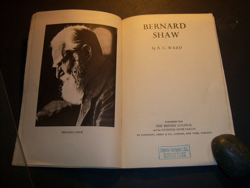 bernard shaw. a c ward . en inglés