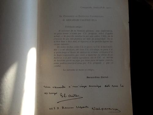 bernardino corral - positiva riqueza pobreza chile - 1921