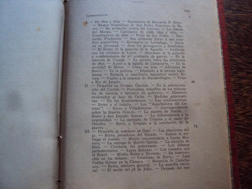 bernardo berro vida publica y privada aureliano berro 1920