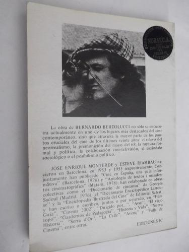 bernardo bertolucci monteverde / riambau director de cine