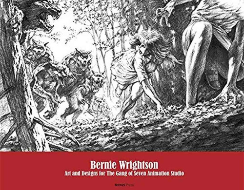 bernie wrightson art and designs for gang of seven animation