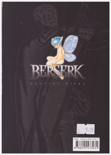 berserk tomo 9 manga ed edt nuevo original - jxr