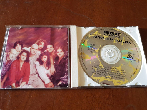 bersuit asquerosa alegria primera edicion real blanca cd