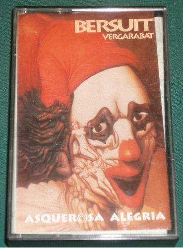 bersuit vergarabat -asquerosa alegria- cassette