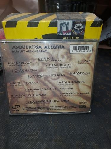 bersuit vergarabat - asquerosa alegria - cd dbn