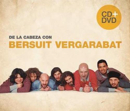 bersuit vergarabat de la cabeza con cd + dvd nuevo