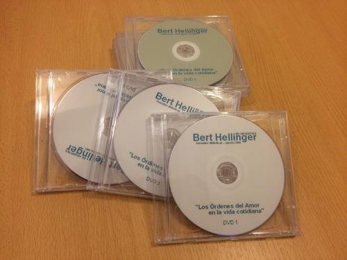 bert hellinger - seminario los órdenes del amor dvd