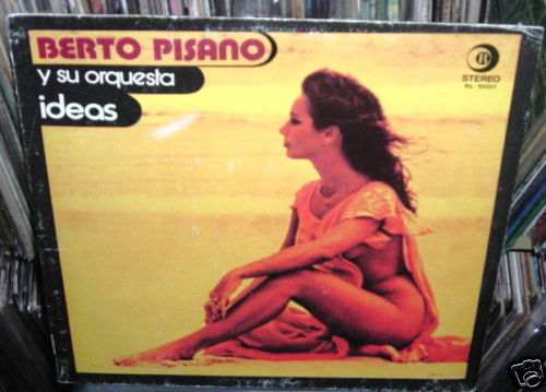 berto pisano y su orquesta ideas  vinilo  argentino