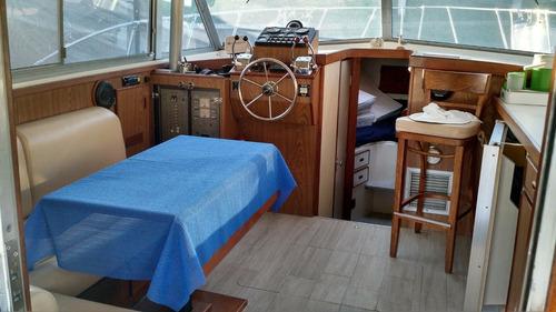 bertram 33 linea de eje - zanovello barcos -