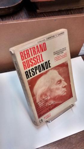 bertrand russell responde: correspondencia (1950-1968)