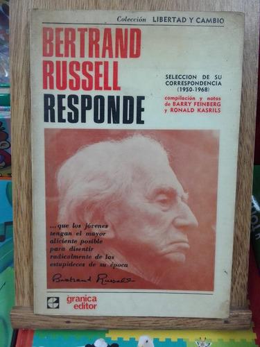 bertrand russell responde - feinberg / kasrils - devoto