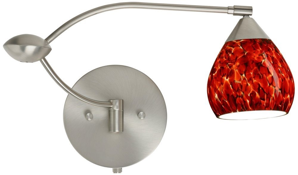 Besa lighting 1wu 560541 sn 1x50w gy635 tay tay wall sconce cargando zoom aloadofball Images