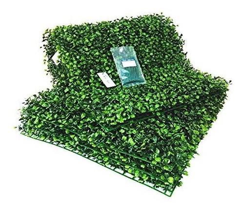 besamenature plantas artificiales de pared de madera de boj