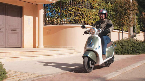 besbi 125cc scooter motoneta retro vintage