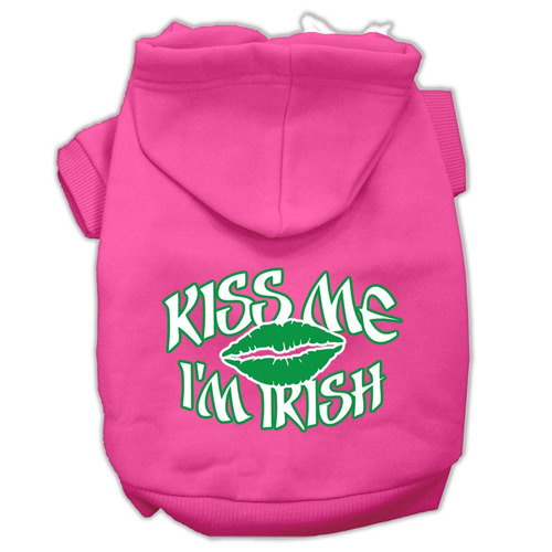beso me yo 'm irlandés pantalla impresión para mascotas su
