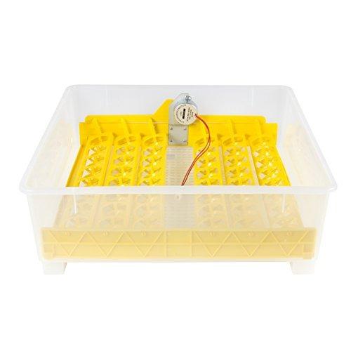 best choice products 48 incubadora de huevo transparente di