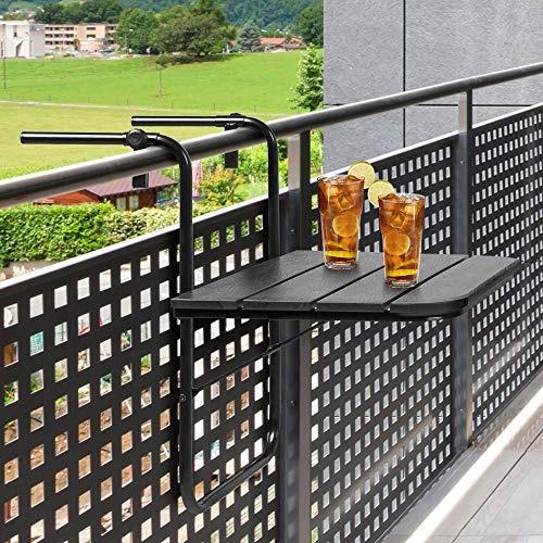 best choice products mesa plegable colgante para interiores,