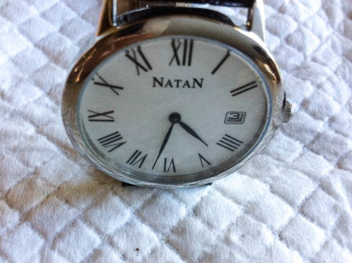 best fine relógio quartz natan 32 mm. pulseira deployant