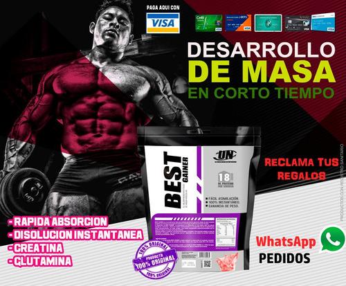 best gainer 5 kilos + envio + promociones..!!!