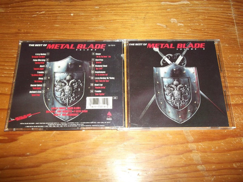 best of metal blade vol.3 lizzy borden cd imp ed 1988 mdisk