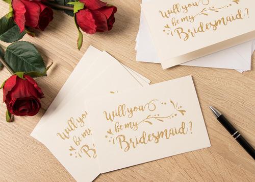 best paper greetings 12-pack bridesmaid cards - bridesmaid p