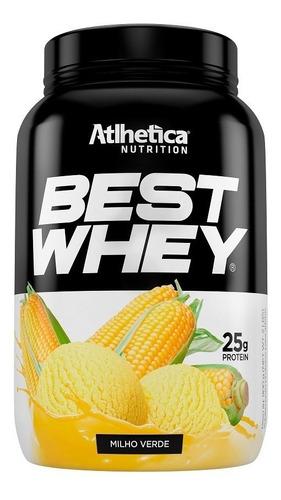 best whey 900g vários sabores - atlhetica