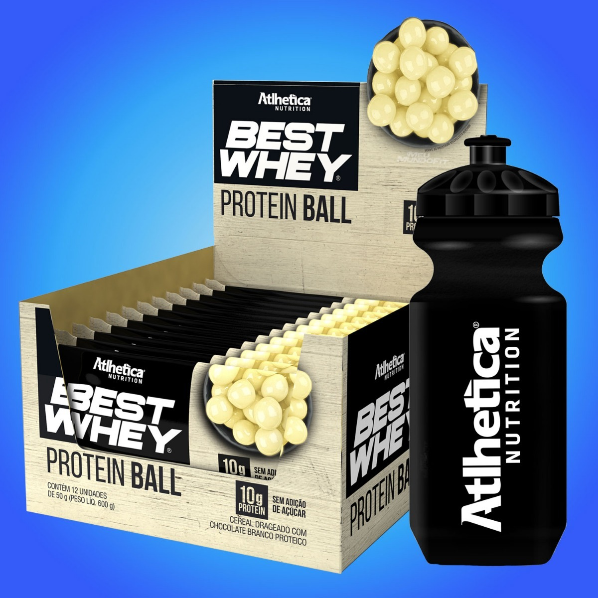 3edcf0906 best whey protein ball (12 un.50g) atlhetica nutrition. Carregando zoom.