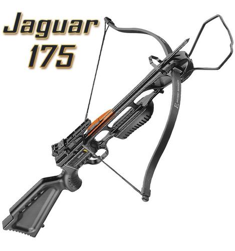 besta balestra jag1 jaguar 175 lbs + capa + 8 flechas s-16