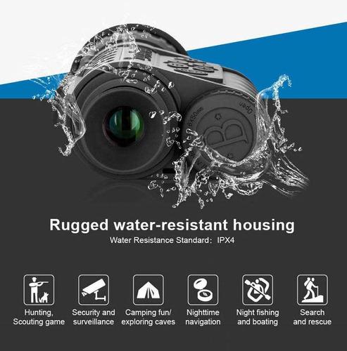 bestguarder digital night vision monocular scope 6x50mm