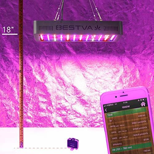 bestva 1000w led grow light full spectrum