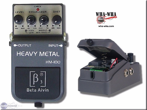 beta aivin hm-100 heavy metal distortion pedal