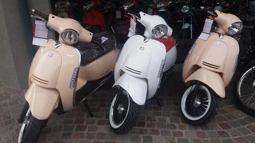 beta arrow tempo 150 0km scooter retro deluxe 2018 999 motos