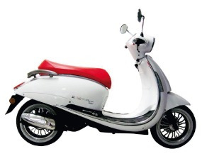 beta arrow tempo 150 0km scooter retro deluxe