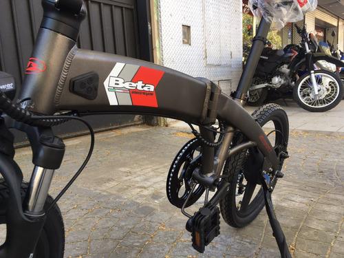 beta bicicleta plegable electrica rod 20 e-bike