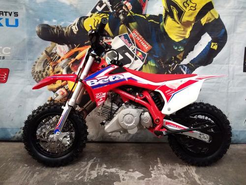 beta kinder 50 rr auto centrifugo niños mx motocross dompa