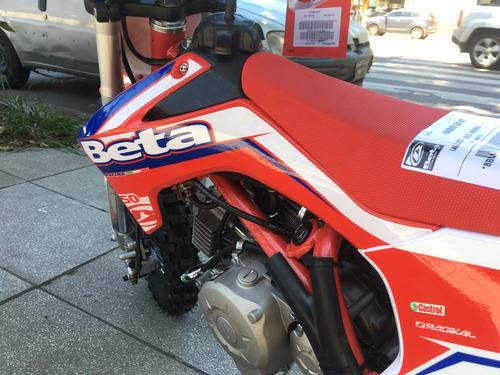 beta kínder 50t motocross niños