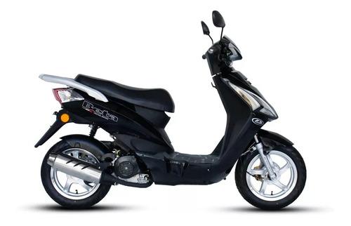beta scooby 80  sauma motos color gris