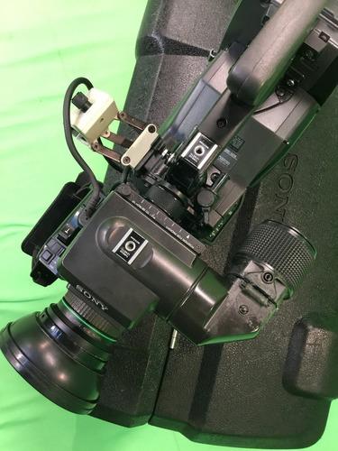 betacam filmadora sony dxc-537 com pvv-1a + lente canon