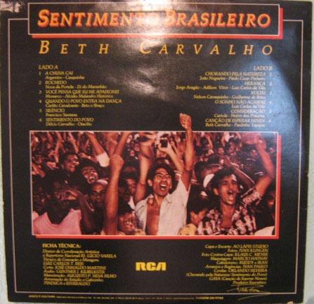 beth carvalho - sentimento brasileiro - 1980