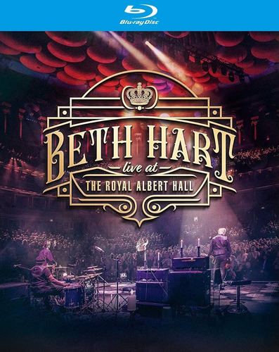 beth hart - live at royal albert hall - blu ray lacrado