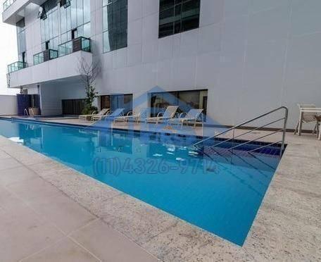 bethaville - flat com 1 dormitório para alugar, 26 m² por r$ 1.990/mês - bethaville i - barueri/sp - fl0027