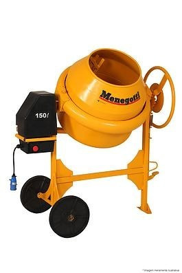 betoneira 150 litros 110v/220v linha premium menegotti