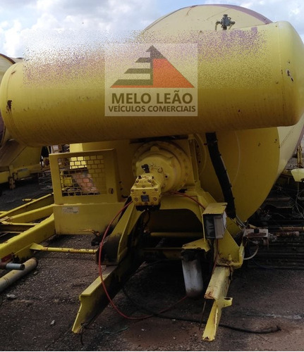 betoneira siti 8 m³ - amarela - ano 2008