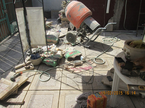 betonera trompo arriendo escaleras, gasfiteria destapes arri