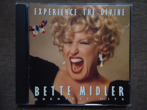 bette midler - experience the divine - cd - importado