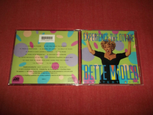 bette midler experience the divine hits cd usa ed 1993 mdisk