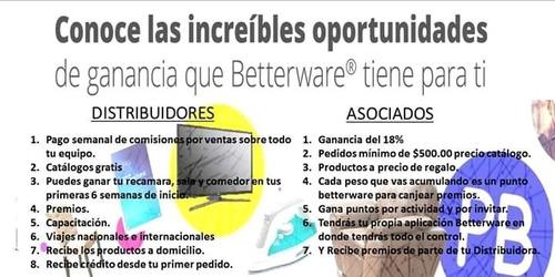 betterware membrecias